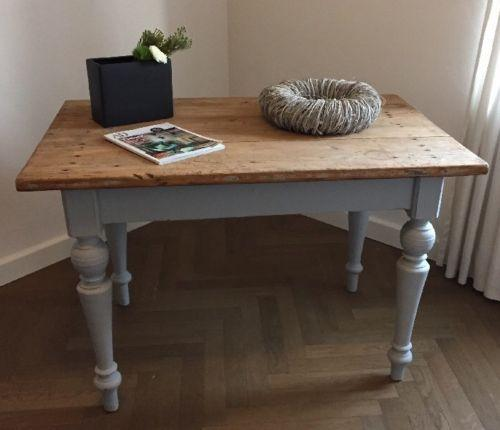 gr nderzeittisch restaurieren lasieren grundieren. Black Bedroom Furniture Sets. Home Design Ideas