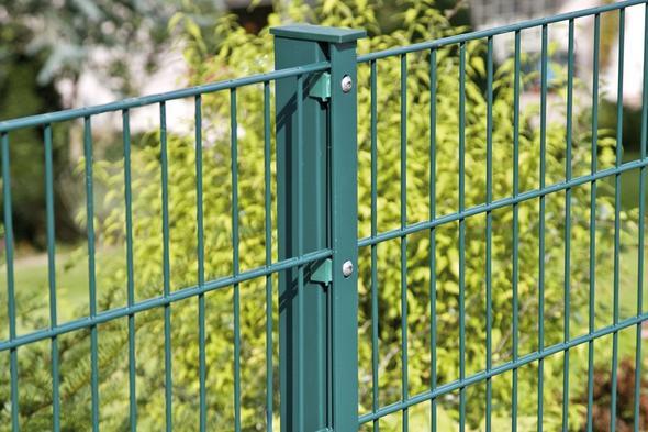 gr ner metall zaun garten gartenzaun vorgarten kosten mit
