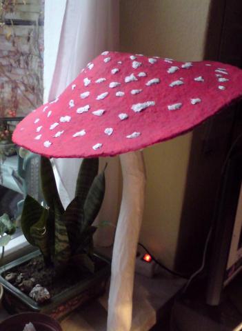 g nstigen wetterfesten lack f r pappmaschee pilze wetterfest lackieren basteln. Black Bedroom Furniture Sets. Home Design Ideas