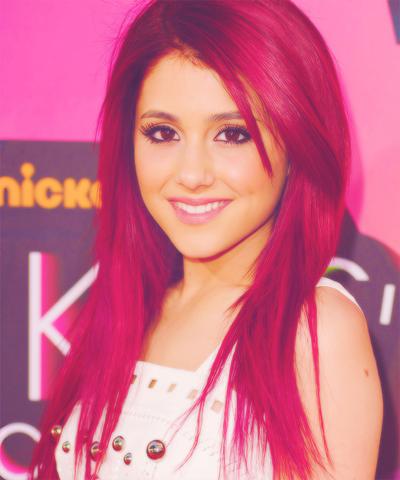 Haarfarbe magenta