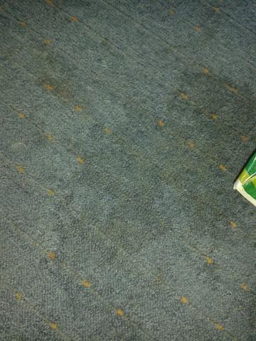 Wie kriegt man flecken aus dem teppich