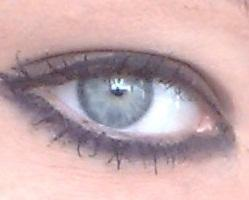 Augen schmincken