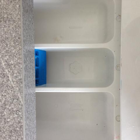 in welches der drei f cher kommt das color gel in der waschmaschine rein fach waschmittel. Black Bedroom Furniture Sets. Home Design Ideas