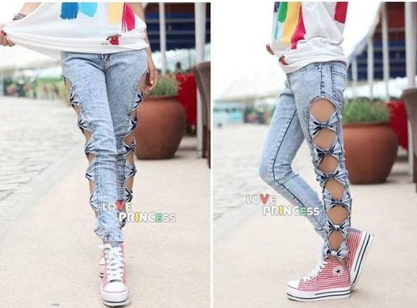 jeans mit l chern an der seite woher name bein l cher. Black Bedroom Furniture Sets. Home Design Ideas