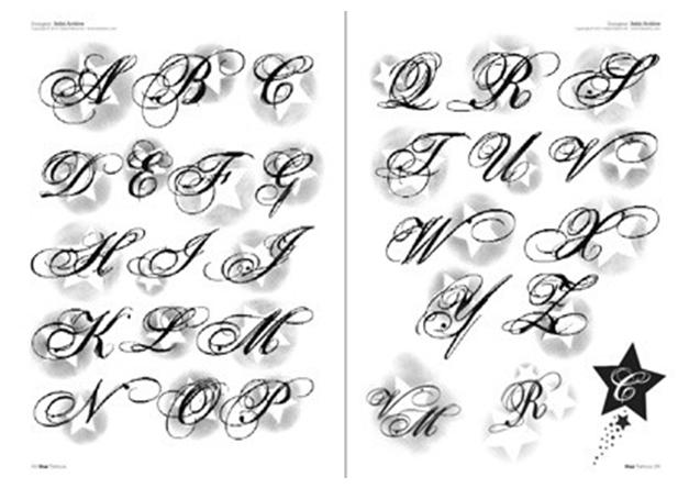 tattoo schrift arten