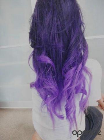 blaue haare ohne blon rung