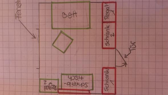 kleines zimmer umgestalten kreativit. Black Bedroom Furniture Sets. Home Design Ideas
