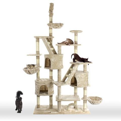 kratzbaum pimpen wichtig katzen. Black Bedroom Furniture Sets. Home Design Ideas
