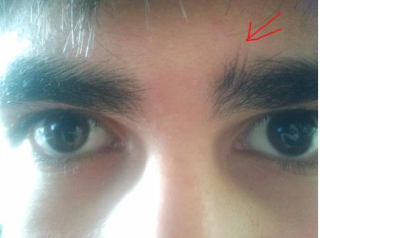 Augenbrauen wachsen zusammen was tun