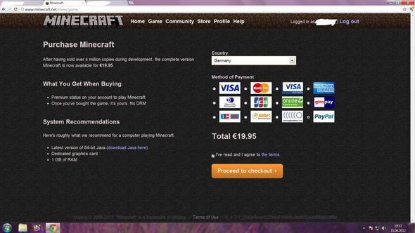 minecraft mit paysafe bezahlen