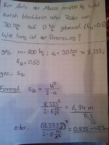 Bremsweg Berechnen Physik : physik in deutschpix themenheft elektrizit tslehre deckblatt ~ Themetempest.com Abrechnung