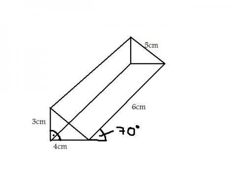 prisma volumen berechnung mathematik koerper mathe. Black Bedroom Furniture Sets. Home Design Ideas