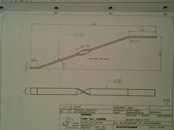 problem beim berechnen der gestreckten l nge metallbau technik. Black Bedroom Furniture Sets. Home Design Ideas