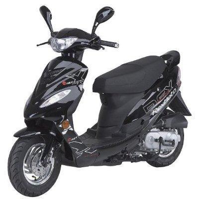 rex rs 400 scooter 400 ein st ck schneller machen 40 km. Black Bedroom Furniture Sets. Home Design Ideas