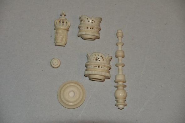 schachspiel aus elfenbein spiele schach. Black Bedroom Furniture Sets. Home Design Ideas