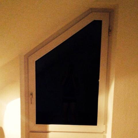 Schön Gardine Schräges Fenster Ideen