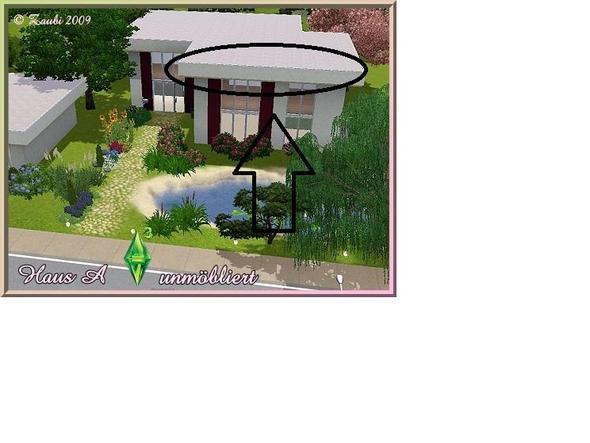Sims 3 hohes flachdach bauen computer hausbau for Sims 4 dach bauen