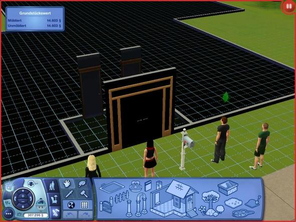 sims 3 problem t ren fenster graue ecke die sims spiele. Black Bedroom Furniture Sets. Home Design Ideas