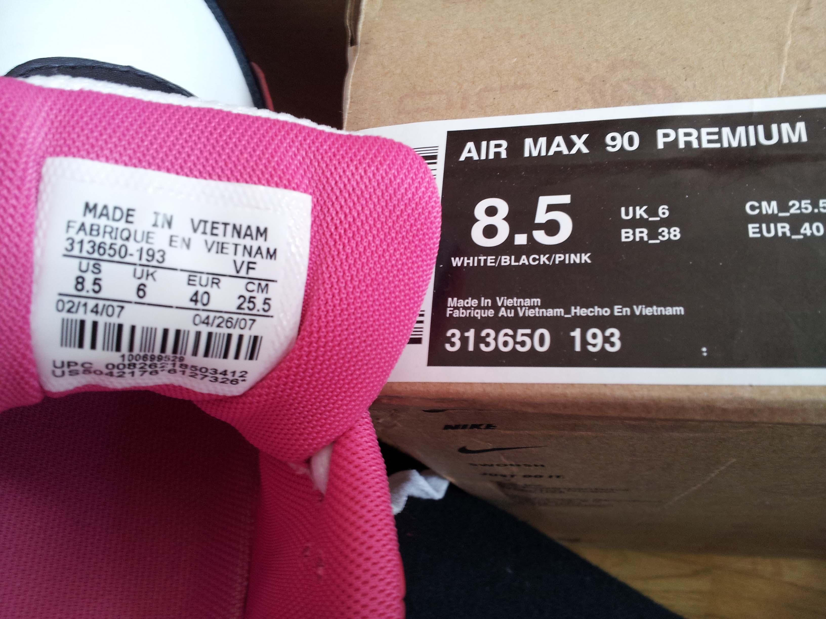Original Nike Air Max Made In Vietnam