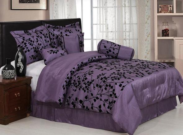 suche bellas bettw sche lila bellam twilight. Black Bedroom Furniture Sets. Home Design Ideas