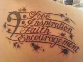 Suche gute Worte für mein Tattoo, siehe Beschreibung (Kunst