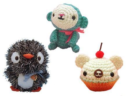 suche h kel anleitung um amigurumi oder tiere zu h keln am japan. Black Bedroom Furniture Sets. Home Design Ideas