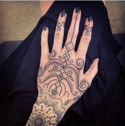 Tattoo, wie nennt man den stil ?
