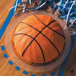 basketball kuchen backen