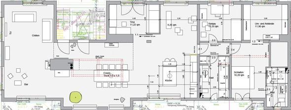 verlegerichtung parkett wohnung richtung neubau. Black Bedroom Furniture Sets. Home Design Ideas
