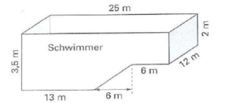 volumen von schwimmbad berechnen geometrie school mathe. Black Bedroom Furniture Sets. Home Design Ideas