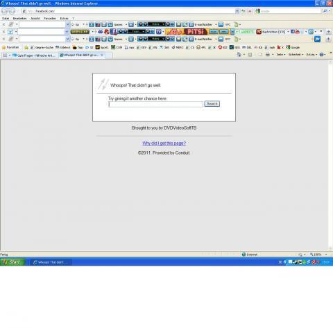 warum kann ich nicht mehr öffnen internet