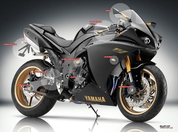 Yamaha R Mirror Sport