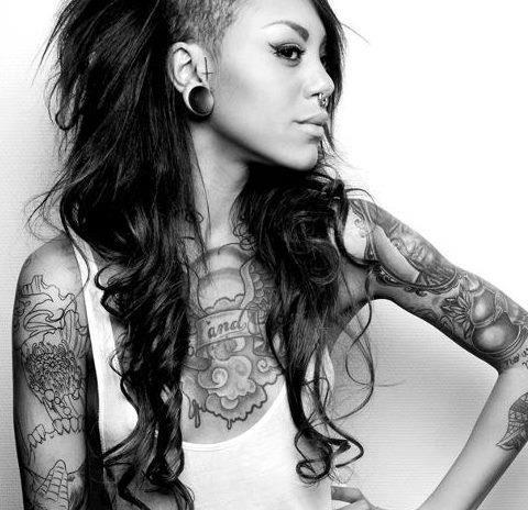 Wei  223  jemand  wie sich dieser Style nennt   Tattoos  Piercings Sidecut Hair Designs