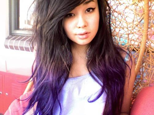 Haare Mit Lila