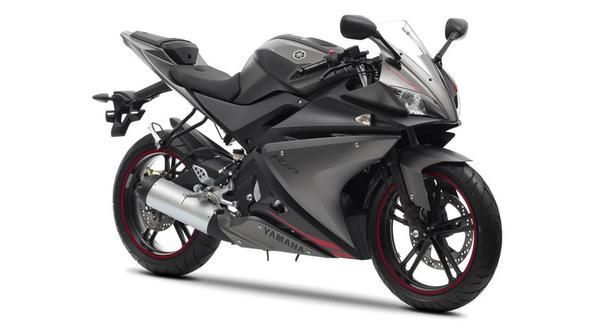 Yamaha yzf r125 wei oder grau auto for Yamaha 500cc sport bikes