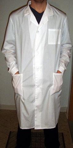 Рабочий белый халат 2