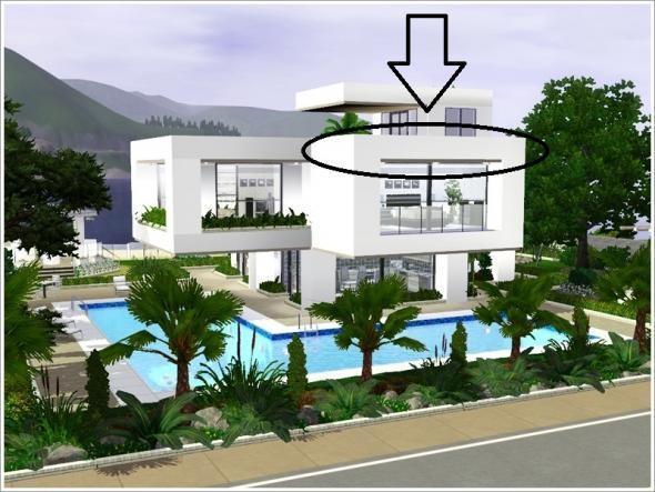 wie baut man bei the sims3 f r ps3 ein wanddach die sims3. Black Bedroom Furniture Sets. Home Design Ideas