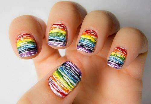 Wie geht dieses nageldesign nagellack fingern gel - Nageldesign zum selber machen mit nagellack ...
