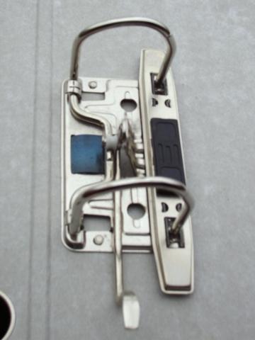 Папка-регистратор COLOURPLAY 80 мм ламинированная неоновая сиреневая
