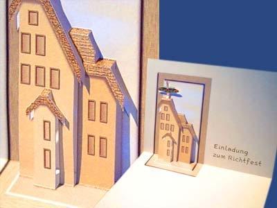 wie kann ich eine 3d karte basteln karten pop up karten. Black Bedroom Furniture Sets. Home Design Ideas
