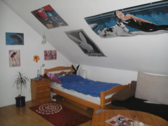 pin lila streichen wie es an der wand zu sehen ist on pinterest. Black Bedroom Furniture Sets. Home Design Ideas