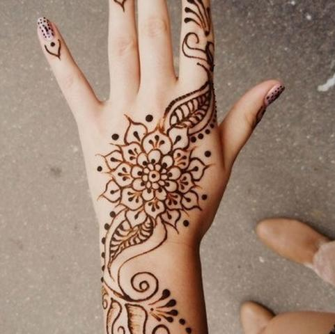 pin henna tattoo selber machen on pinterest. Black Bedroom Furniture Sets. Home Design Ideas
