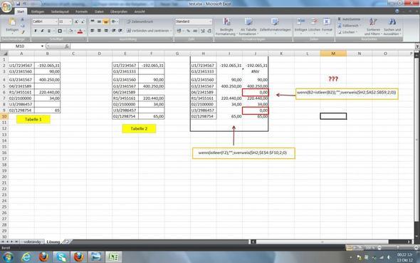 Excel Arbeitsblatt In Zelle : Wie wandele ich in excel null leere zelle um wenn