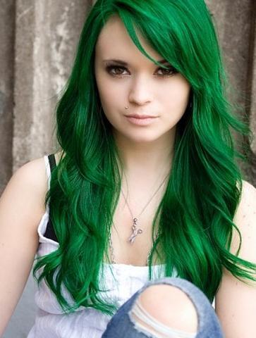 wie werden haare dunkel grün directions frisur