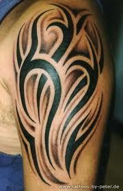 Oberarm Tribal