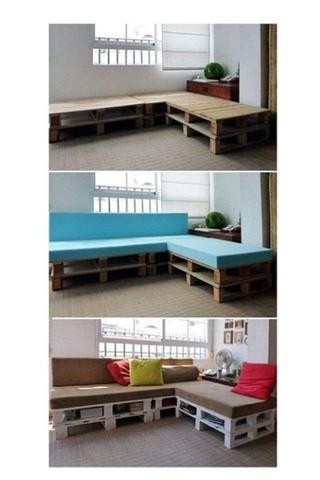 wo bekomm ich nur billige weiche auflagen f r meine palettencauch her auflage freizeit. Black Bedroom Furniture Sets. Home Design Ideas
