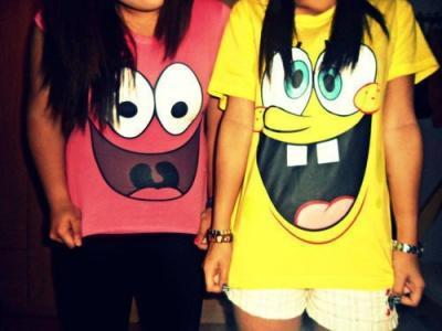 wo bekommt man solche t shirts her patrick spongebob t shirt. Black Bedroom Furniture Sets. Home Design Ideas