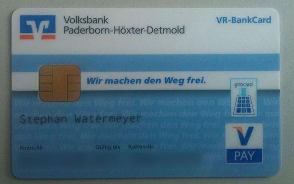 kartennummer visa