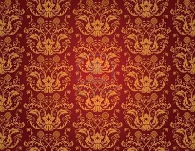 wo kann ich so eine vintag nostalgie tapete herbekommen rot alt vintage. Black Bedroom Furniture Sets. Home Design Ideas