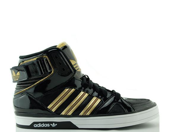 Adidas Neo Schwarz Gold